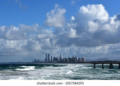 View on the Gold Coast skyline from The Spit