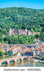View on Heidelberg at summer, Germany
