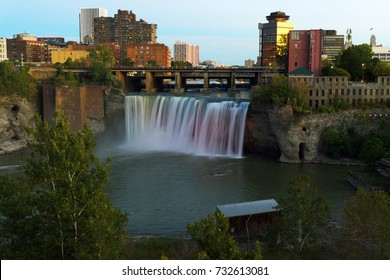 View on High Falls. Rochester, NY