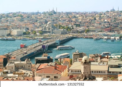 View on Istanbul from Galata tower