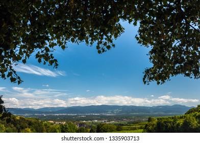 View on Kaiserstuhl
