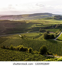 View on Kaiserstuhl, Germany