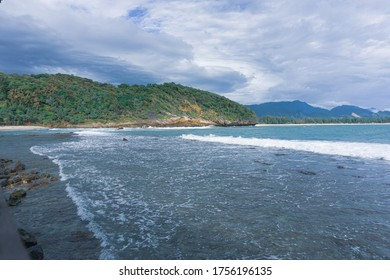 A view on Lampuuk Beach, Aceh, Indonesia