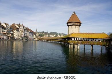 View on Luzern, Switzerland