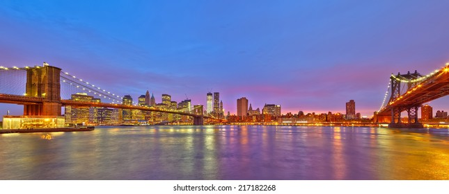 View on Manhattan from Brooklyn, New York City