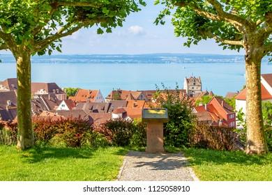 View on Meersburg, lake Constance