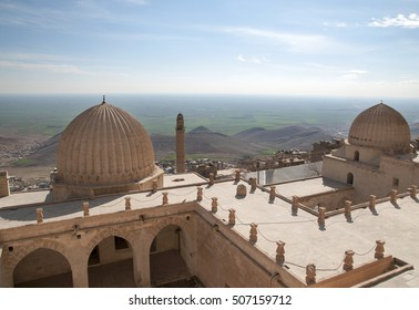 The view on the Mesopotamian plain from Dome of Zinciriye-Medrese