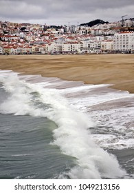 View on Nazare, Portugal.