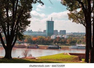 View on New Belgrade from Belgrade Fortress
