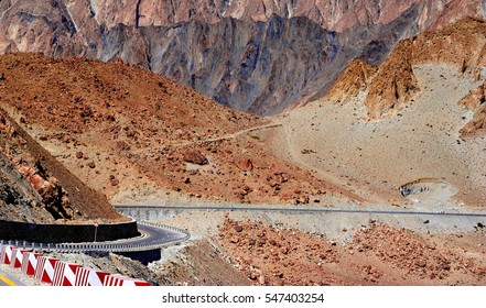 View on the new silk road or Karakoram highway, This highway is the friendship project offered by China.