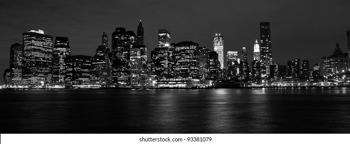 View on New York City at Night