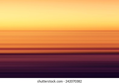 View on the North Sea with sunset from the Sankt Peter-Ording beach.