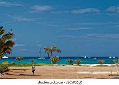 View on the ocean, island Sal, Cape Verde