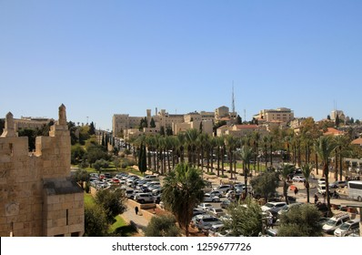 View on old city Jerusalem, Israel