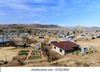 View on the old part of Maseru , Lesotho