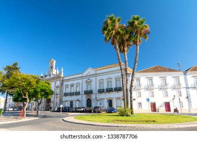 view on Old Town of Faro, Algarve, Portugal