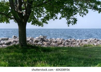 View on the Ontario Lake