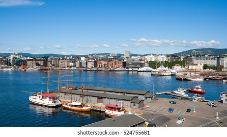 View on Oslo and it's harbor.