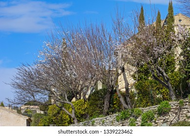 View on a part of the small French village Gordes in Provence, near the Luberon.