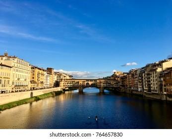 View on the Ponte Vecchio