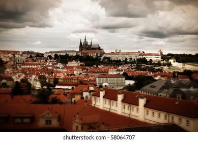 View on the Prag castle,Czech republic