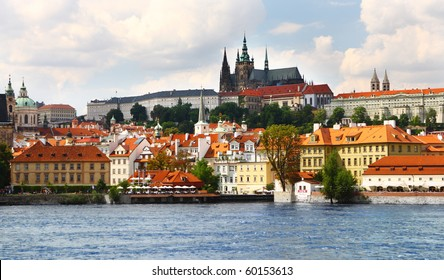 view on the Prague, Czech Republic.