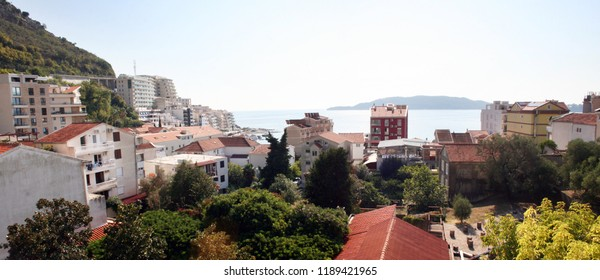 A view on Rafailovici, holiday resort in Montenegro