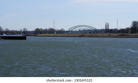 view on the river Rhine
