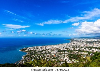 View on Saint Denis (reunion island)