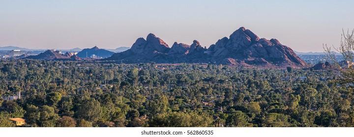 View on Scottsdale. Arizona.
