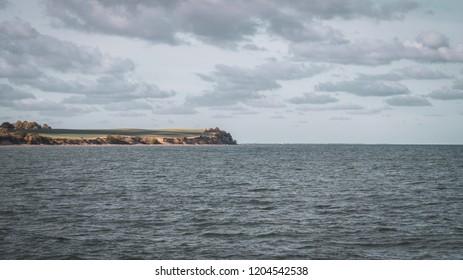 View on the sea in Boltenhagen
