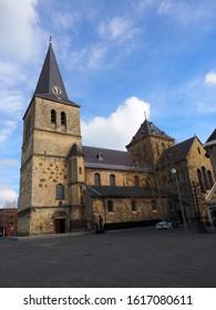 View on st Pancratius in Heerlen, the Netherlands