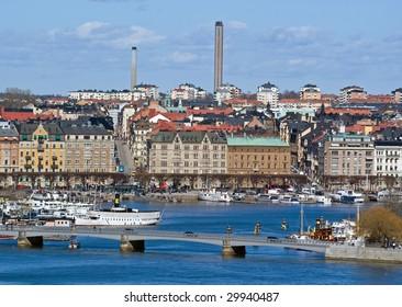View on Stockholm, Sweden