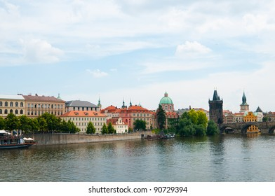 The View on summer Prague