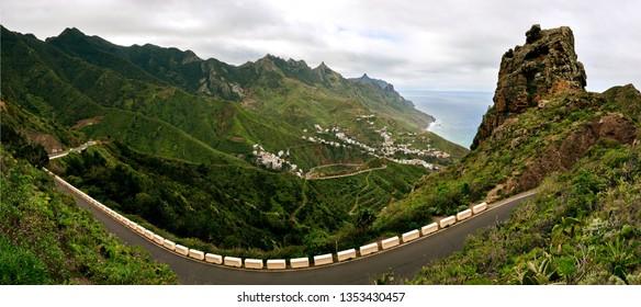 view on taganana Tenerife panorama