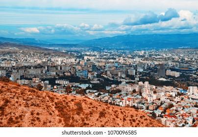 View on Tbilisi city. Tbilisi. Georgia