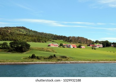 A view on Throndheim fjord