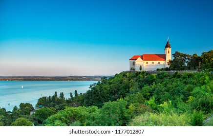 View on Tihany Abbey, Hungary