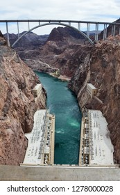 View on top of the Hoover Dam