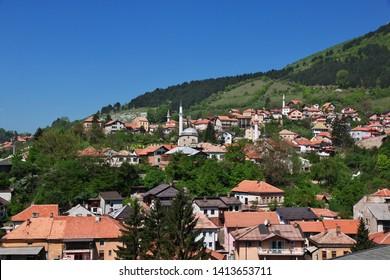The view on Travnik, Bosnia and Herzegovina