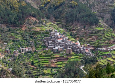 View on the unique village of Piodao. Portugal