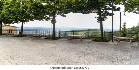 View on Valpolicella, Verona - Italy