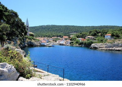 view on Veli Losinj, Croatia