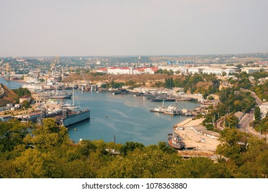 View of one of the bays of Sevastopol