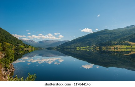 View of Oppheimsvatnet, Voss, Norway