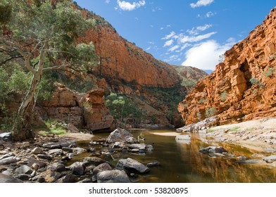View of Ormiston Gorge, Macdonnell Ranges, Australia