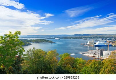 View of Oslo fjord, Norway
