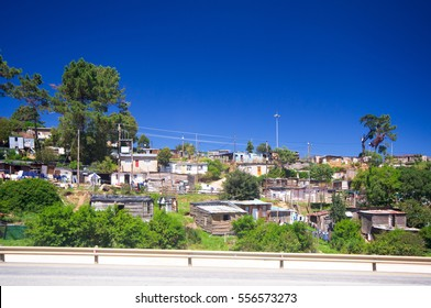 View ot the Township, Robertson,South Africa