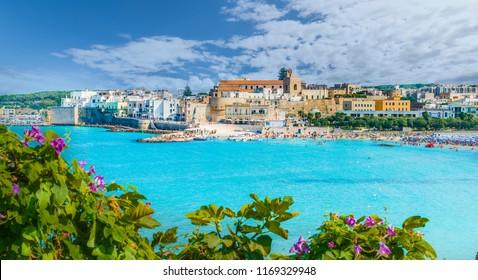 View of Otranto town, Puglia region, Italy
