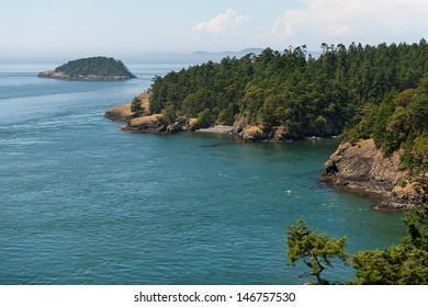 A view out into the San Juan Islands in northern Washington